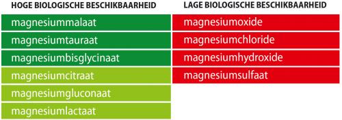 Magnesium vormen en opneembaarheid