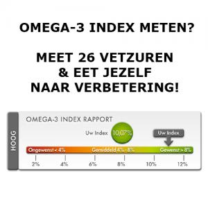 Omega-3 index meten