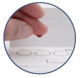Omega 3 index meten stap 2