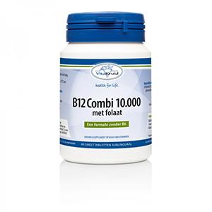 vitamine B12 10.000 + folaat - vitakruid